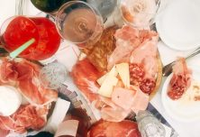 Tamburini , a lovely lovely place to have cheese and meats and wine. in Via Calzolerie