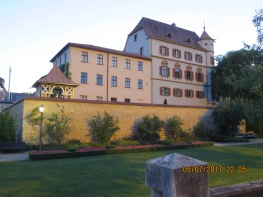 beautiful building in Treuchtlingen, scouted on our evening walk