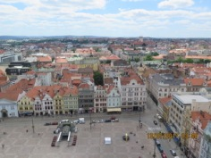 View from St Bartolomew Cathedral Spire