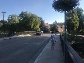 evening walk in Treuchtlingen