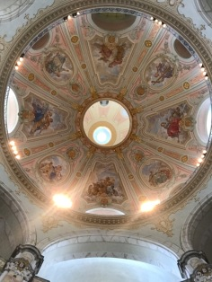 dome inside the Frauenkirche