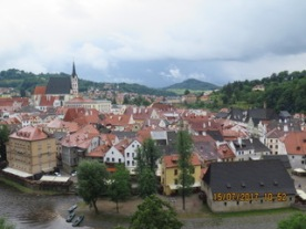 and another pic of Cesky Krumlov