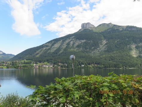 View over the Altaussee