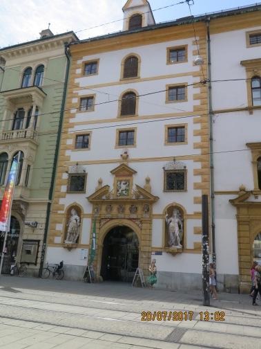 More buildings in Graz