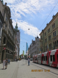 The trams in centre are free to tourists for one or 2 stops
