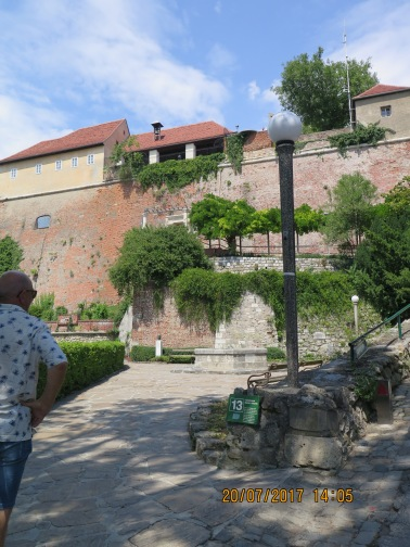 Turkish well, Schloss in Graz
