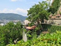 Beautiful views from the Schloss in Graz
