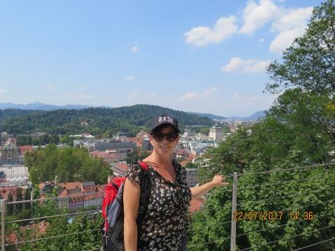 View from the Ljubljana castle