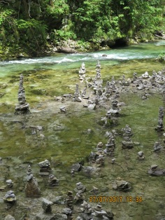 New trend we saw everywhere where people build these cairns..not sure of the significance