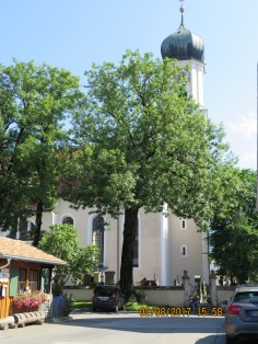 Church building in Oberammergau