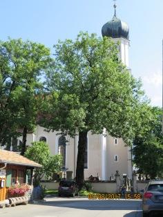 Church building in Oberammergau