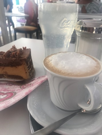 Coffee and cake for lunch , anyone?