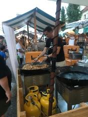 Food market at Ljubljana