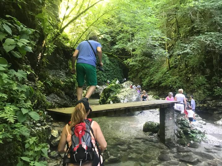 Walk to Kozjak falls