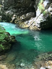 Vintgar Gorge, how beautiful is the water