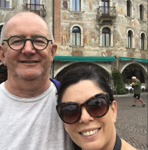 Selfie in Trento