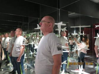 Interactive exhibits at Escher