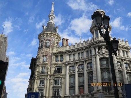 Architecture in Madrid
