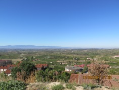 a view over the valley, Rioja