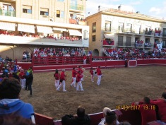 Felice Fiesta in Villafranca. Spain