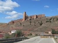 Albarracín in the distance