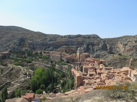 View over Albarracín, Spain