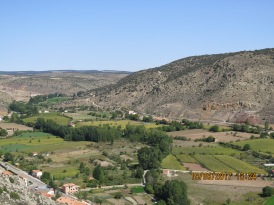 Looking towards Teruel, Spain