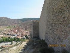 The walls of Albarracín