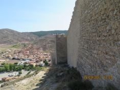 The walls of Albarracín