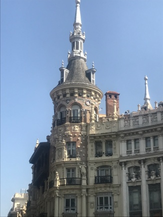 Banco in Madrid, beautiful architecture