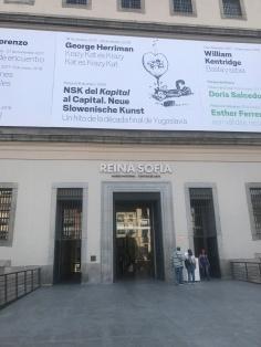 Renia Sofia, Madrid