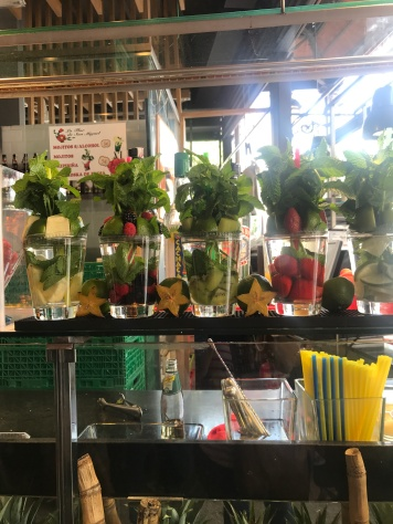 Mojitos anyone, for breakfast? Mercado de San Miguel