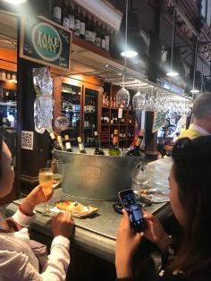 Wine & cava for days...Mercado de San Miguel