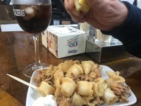Calamares, Calle Laurel, Logroño