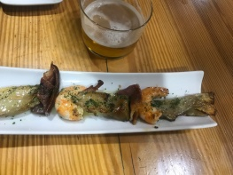 Brochetta, Bar Charly, Calle Laurel, Logroño