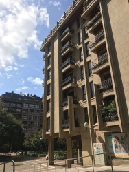 Architecture in Gros, San Sebastián