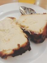 Tarte de Queso (cheesecake) in La Viña, Parte Vieje, San Sebastián