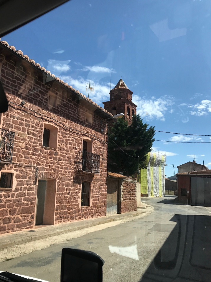Winding our way thru the Spanish villages!