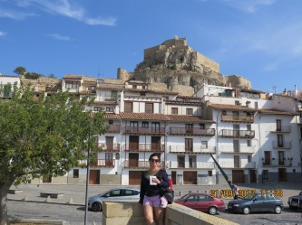 Its a long way to the top, Morella castle Spain