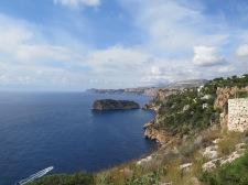 View from Cap De La Nau