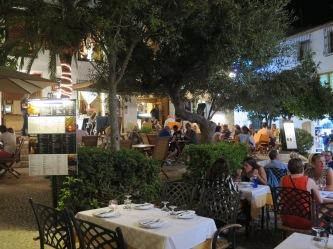 The tourist square in Altea