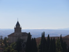 View from The Generalife, Alhambra Granada