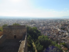 Views from the Alcazar, Granada