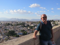 Views for days at the Alcazar, Granada