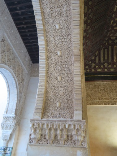 Sheer beauty in Nasrid Palace, Alhambra Granada