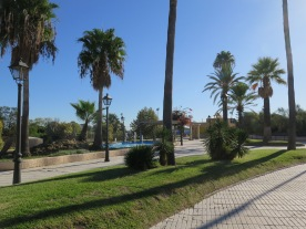 The promenade at El Puerto de Santa Maria