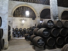 Cellar tour at Gutierrez Colosia, El Puerto de Santa Maria