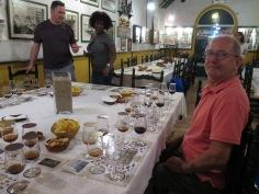Sherry tasting Gutierrez Colosia, El Puerto de Santa Maria