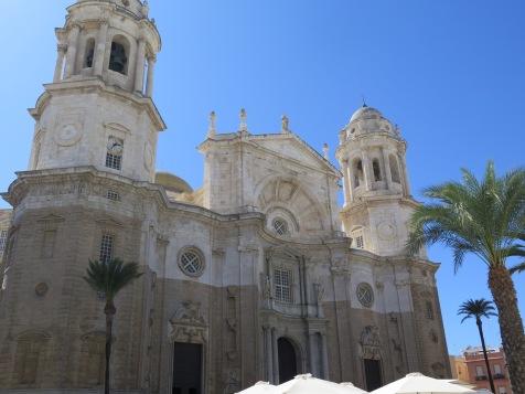 The cathedral at Cádiz