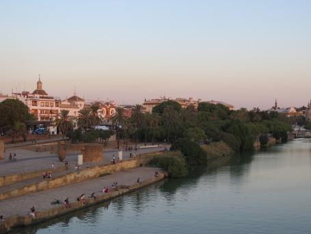 River view at Sevilla